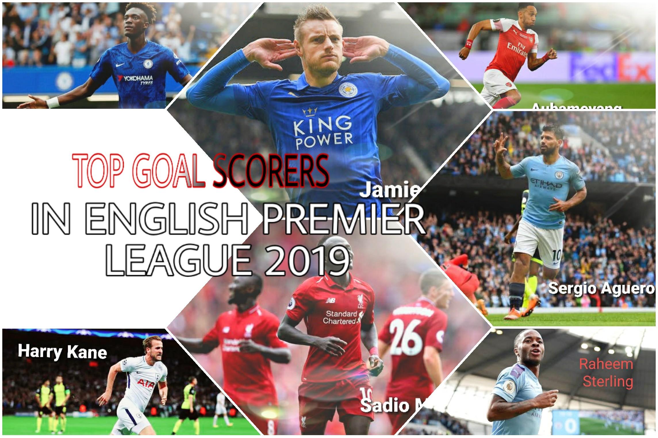 Top Goal Scorer in English Premier League 2019