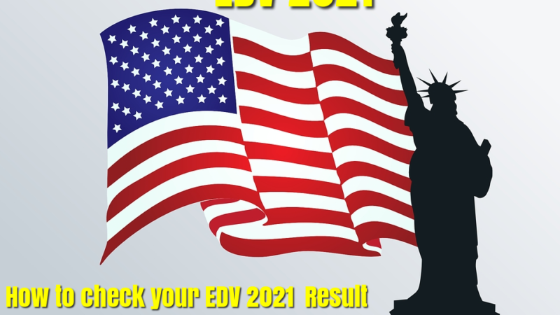 EDV 2021 Result: How to check your EDV 2021 Result