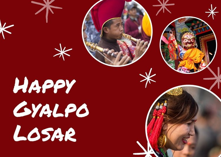 Happy Gyalpo Losar 2076/2020 Wishes, Images & Facts