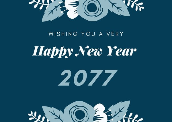 Happy New Year 2077 Wishes, Quotes and Images
