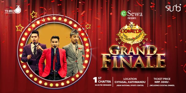 Comedy Champion Grand Finale to be held on Chaitra 1st 2076