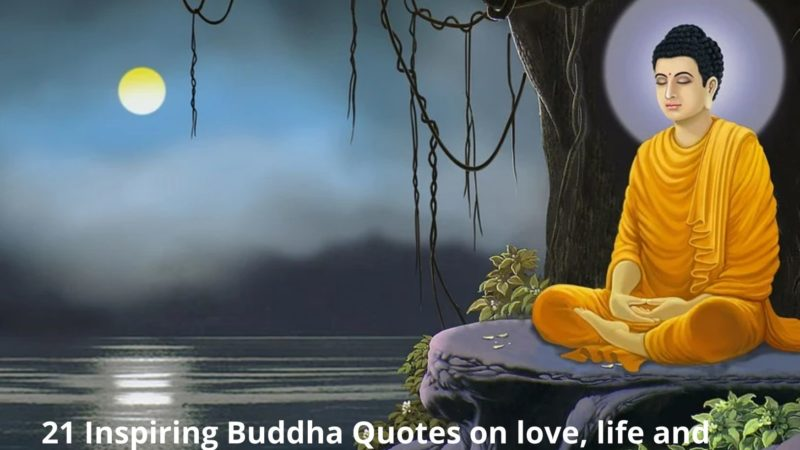 21 Inspiring Buddha Quotes on love, life and happiness