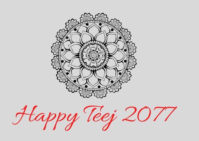 Happy Teej 2077 Wishes: Teej 2077 Quotes & SMS