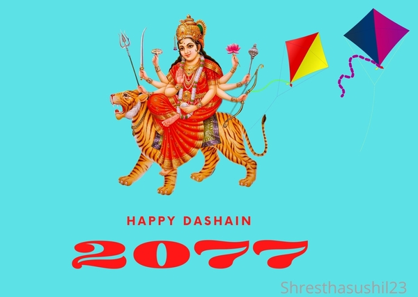 Happy Dashain 2077 Wishes, SMS, Quotes & Images