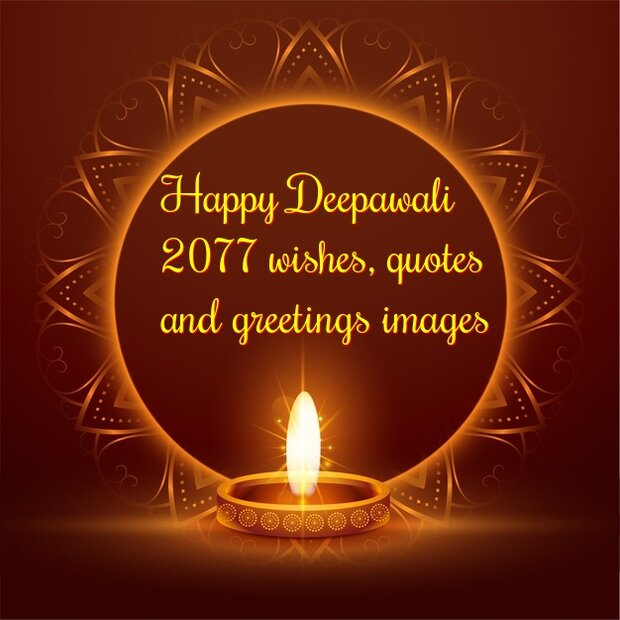 Happy Deepawali 2077 wishes, quotes & greetings images