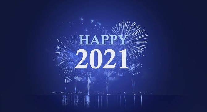 Happy New Year 2021 Greetings Images: Happy New Year 2021 Wishes