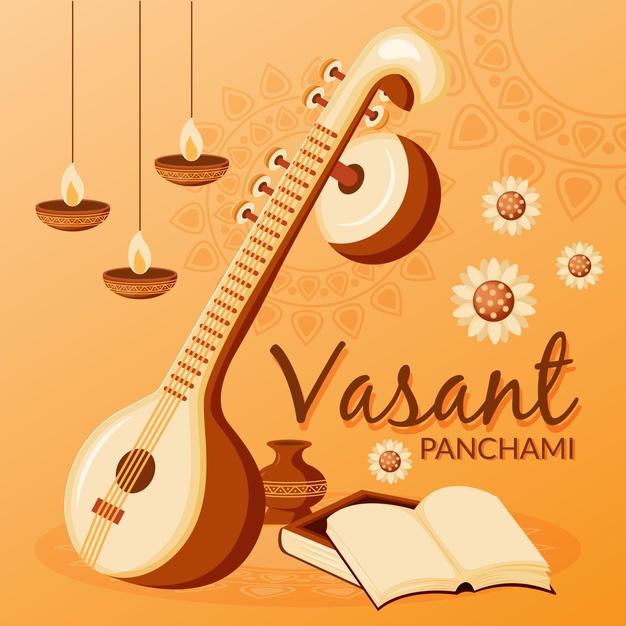 Basanta Panchami, Shree Panchami, Saraswati Puja 2077/2021 wishes and greetings