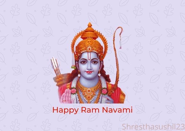 Happy Ram Navami 2078 wishes/Happy Ram Navami 2021