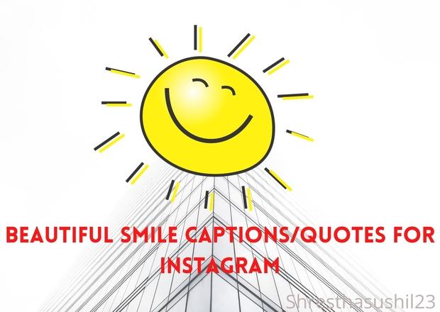 60+ Beautiful Smile Captions/Quotes for Instagram – Instagram Captions