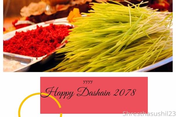 Happy Dashain 2078 Wishes & Greetings in English & Nepali