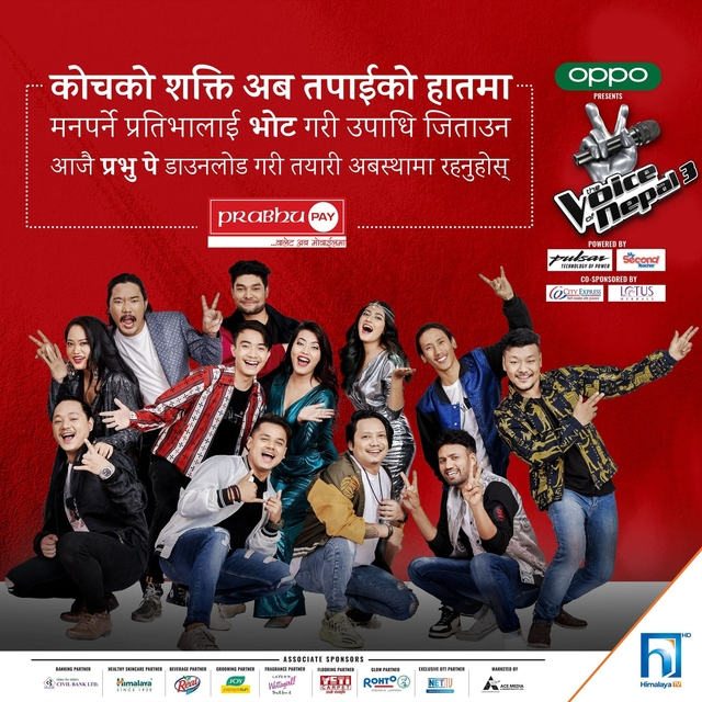 Vote your favourite contestants on The Voice of Nepal Season 3